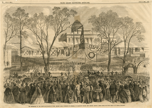 The Restoration of the Union - Inauguration of Michael Hahn