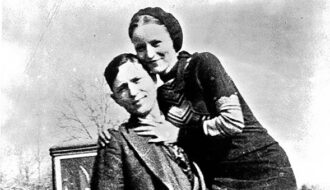 Capture of Bonnie and Clyde