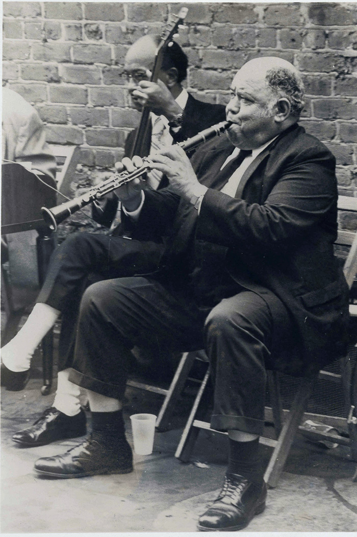 Louis Cottrell Playing with Danny Barker
