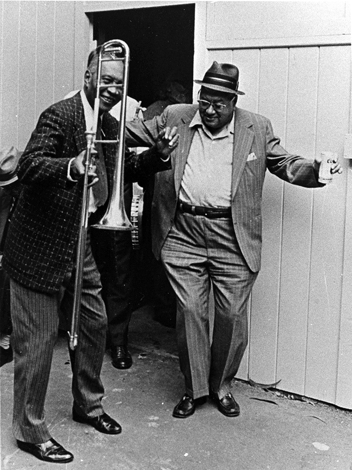 Percy Humphrey with Jim Robinson