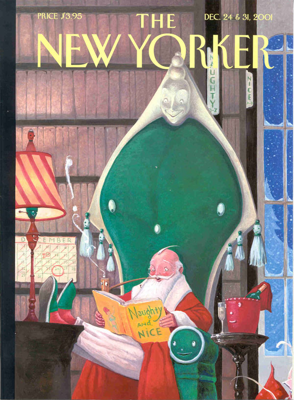 Untitled, New Yorker cover image