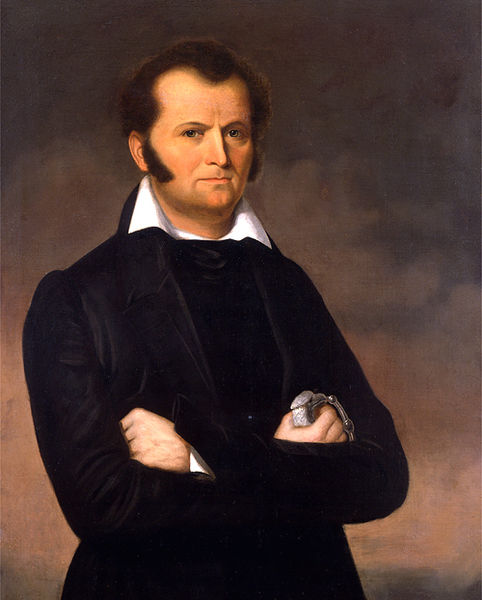 Portrait of Jim Bowie