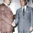 Rev. T. J. Jemison with Martin Luther King, Jr.