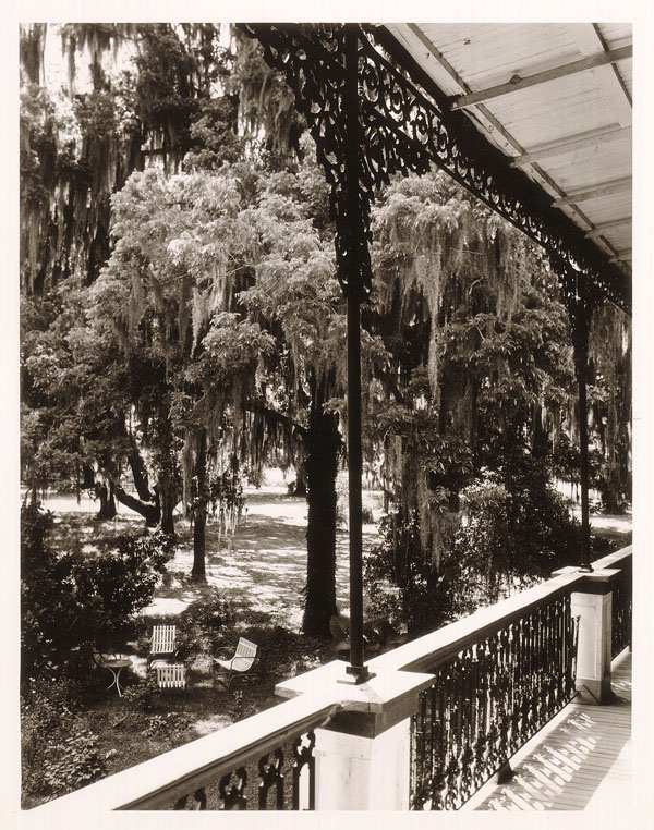 Wrought Iron Porch, Belle Alliance, Bayou Lafourcde (Near Thibodaux)