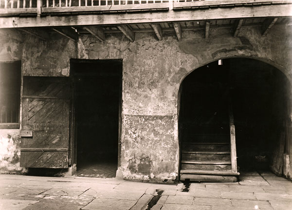 Slave Quarters and Stairway, Cabildo, New Orleans