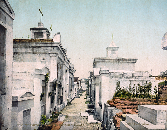 Old Vaults in St. Louis Cemetery No. 2
