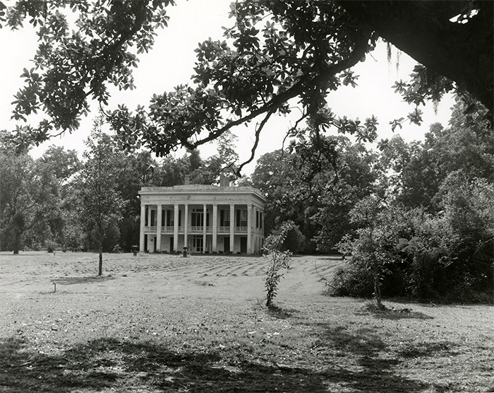 View of Bocage Plantation