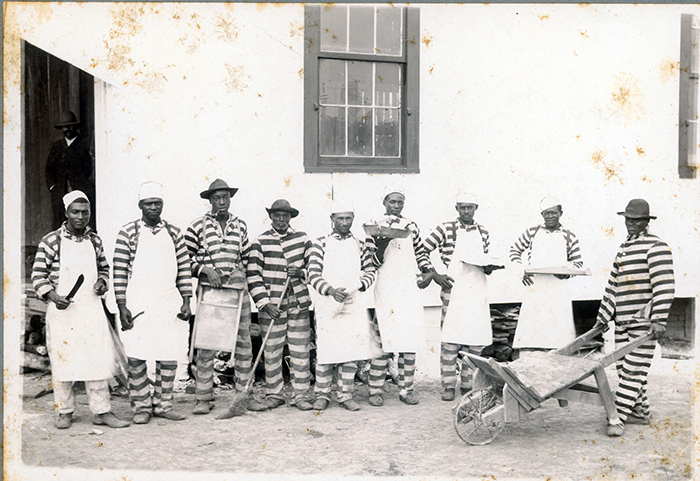 State Penitentiary Prisoners with Tools