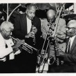 Percy Humphrey, Willie Humphrey, Albert Warner, and Emanuel Paul