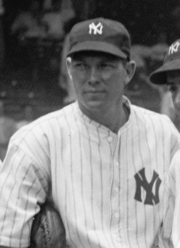 Bill Dickey of the New York Yankees