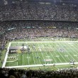Saints game inside the Superdome