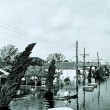 Flooding in the Lower Ninth Ward of New Orleans