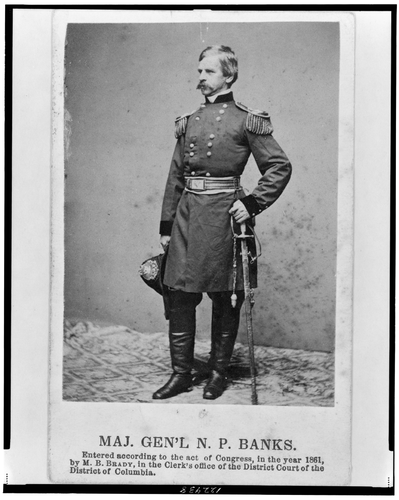 Major General Nathaniel Prentiss Banks