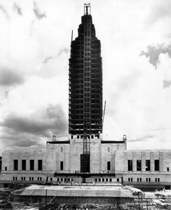 New State Capitol building under construction