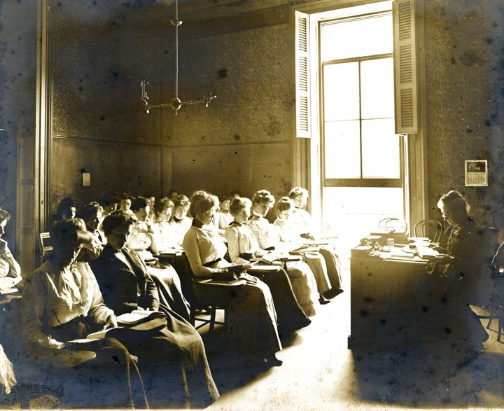 Classroom, H. Sophie Newcomb Memorial College Institute