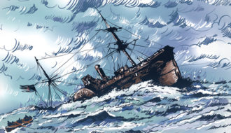 Loaded Down with Iniquity: The Sinking of the <em>Evening Star</em>