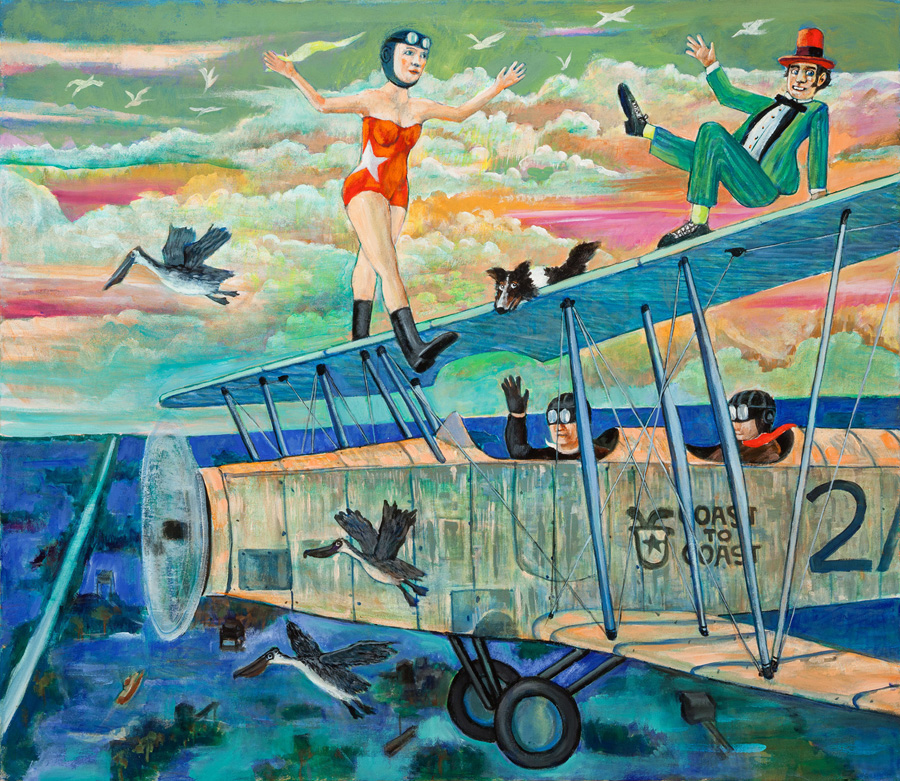 Walking the Wing, 2014