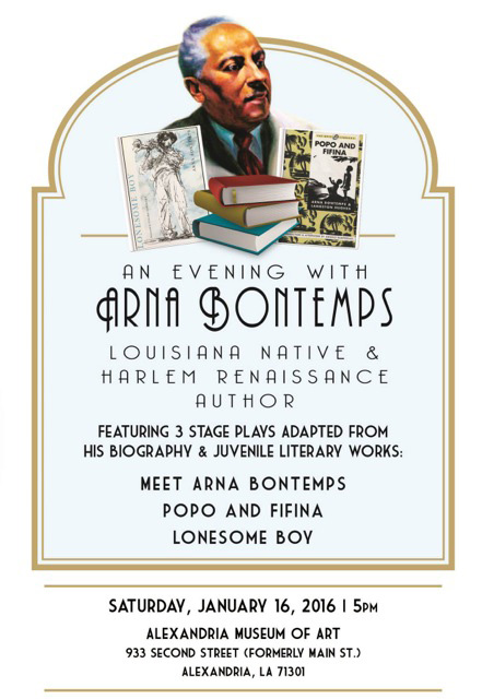 Arna Bontemps flyer