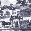 Union captain AndrŽé Cailloux's 1863 funeral procession was the largest gathering of black New Orleanians at that time.
