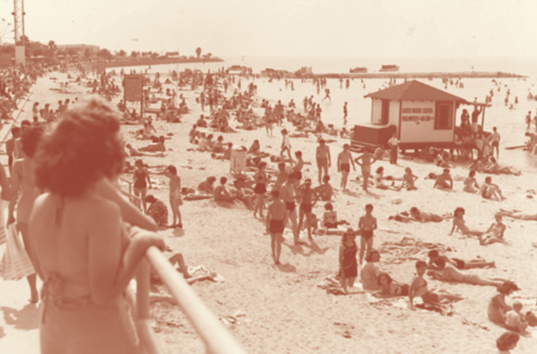Pontchartrain Beach opened in 1928 as a whites-only portion of the lakefront. It was integrated in the mid-1960s. The park closed in 1983. Wikimedia Commons