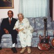 Danny and Blue Lu Barker at home in 1987. Courtesy of the Louisiana State Museum, Photo by Syndey Byrd