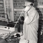 David Freedman at WWOZ Spring 1998 Pledge Drive