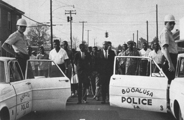 Civil rights march, Bogalusa, Louisiana. Courtesy of the Ronnie Moore Collection, Amistad Research Center at Tulane University.