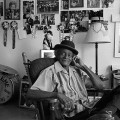 """Uncle Lionel Batiste at Home,"" When Not Performing, New Orleans, LA"