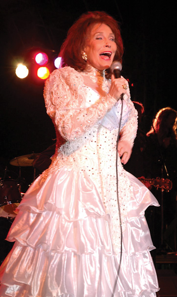 Loretta Lynn in 2005. Courtesy Wikimedia