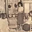 Members of the Chitimacha Tribe of Louisiana prepare supper at home. Courtesy of McNeese State University