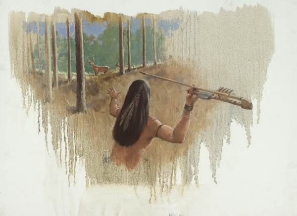 Hunting with an Atlatl