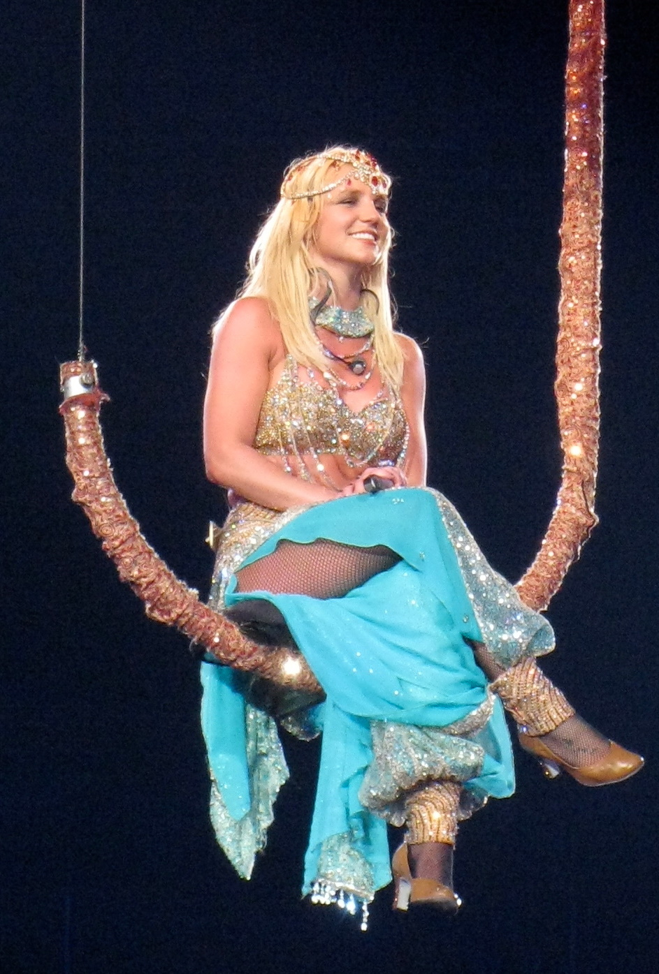 Britney Spears performing in Montreal, 2009