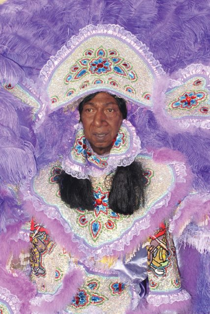 Big Chief Howard Miller. Photo by Keith Hill