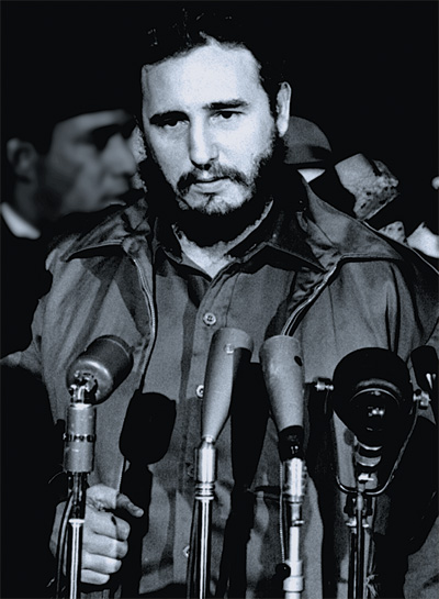 Fidel Castro in Washington, D.C., 1959. Courtesy of the Library of Congress