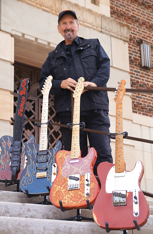 Guitarist James Burton. Courtesy of Shreveport Regional Arts Council