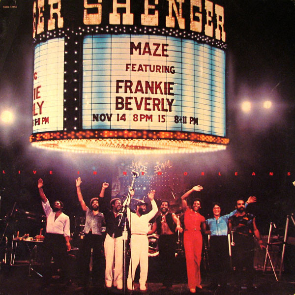 A-Maze-Ing: The Legacy of Maze featuring Frankie Beverly in New Orleans