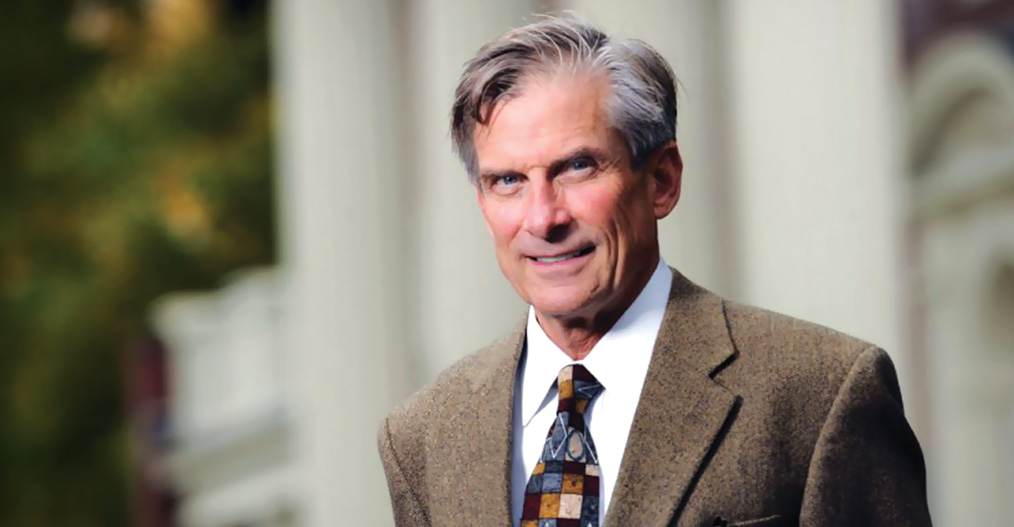 William D. Adams. Courtesy of Colby College, photo by Fred Field