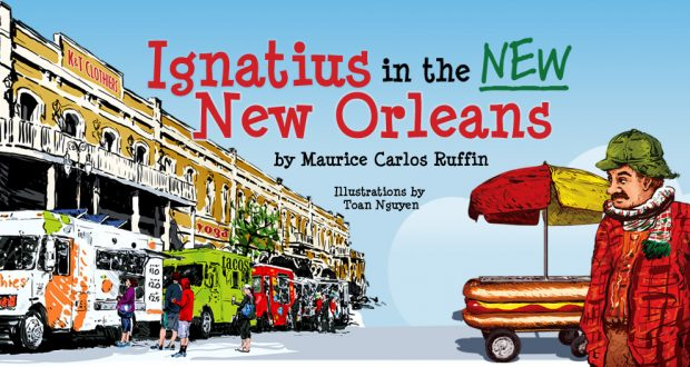 Ignatius in the New New Orleans
