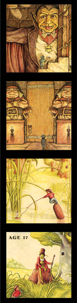 The World of William Joyce Scrapbook; William Joyce; Published by HarperCollins (1997)